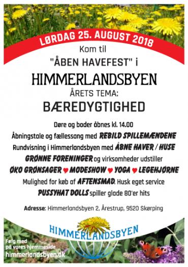 Himmerlandsbyens Havefest 20018